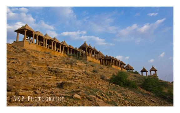 The Royal Cenatophs of Bada Bagh...
