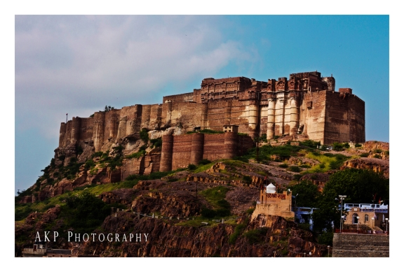 The majestic Mehrangarh Fort, standing tall over the city of Jodhpur... Photo: AKP Photography
