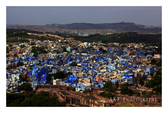 The Blue City... Photo: AKP Photography