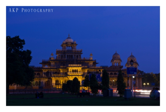 The Albert Hall Museum at dusk... Photo: AKP Photography