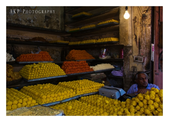 Ladoos! Mountains of sweet delicacies from Rajasthan... Photo: AKP Photography