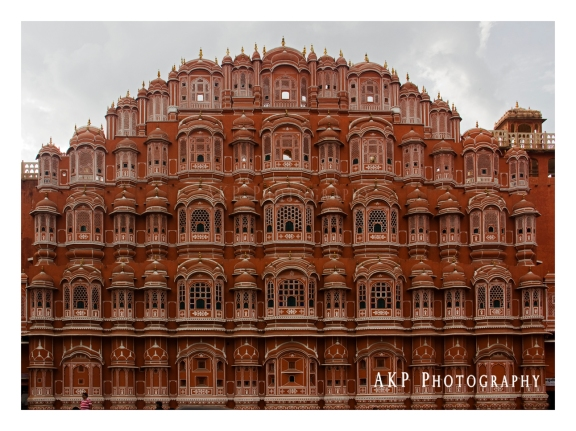 The beautifully decorated facade of the Hawa Mahal (or the Place of Winds)... Photo: AKP Photography