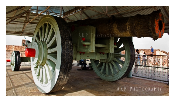 Jaivana - The largest cannon in the world, stationed at the Jaigarh Fort... Photo: AKP Photography