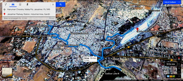 Jaisalmer Trip - Map 2